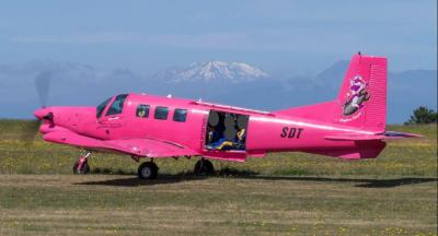 Pacific Aerospace 750XL, ZK-SDT, at Taupō