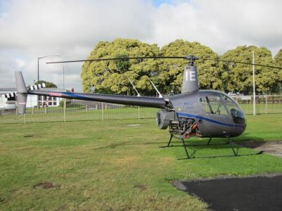Robinson R22, ZK-HIE. Courtesy of Ice Aviation.