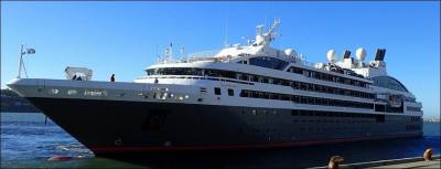 The L'Austral in Dunedin. TAIC photo