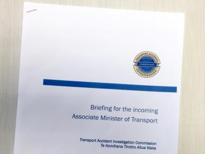 TAIC Briefing to Incoming Minister