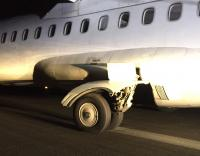 photo of the incident aircraft's running gear