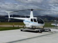 The accident helicopter