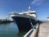 Photo of the San Granit at the wharf