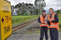 Rail investigators on site