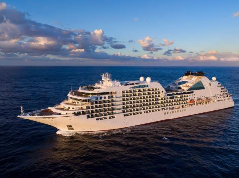Photo - the Seabourn Encore from above | Photo: Seabourn Cruise Line